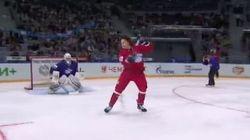KHL: Voilà une échappée qui justifie les épreuves d'habiletés!