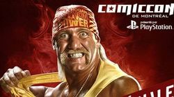 Hulk Hogan au Comiccon de Montréal
