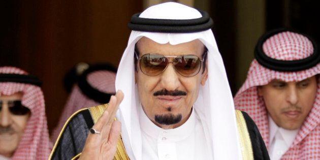RETRANSMISSION FOR ALTERNATE CROP - In this Monday, May 14, 2012 photo, Saudi defense minister Prince...