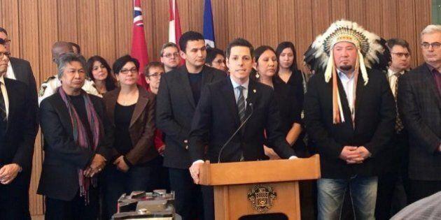 Le maire de Winnipeg admet que sa ville a un problème de
