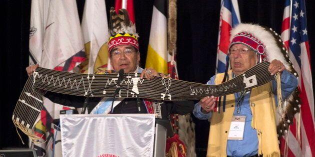 Les chefs autochtones du Canada se concertent à