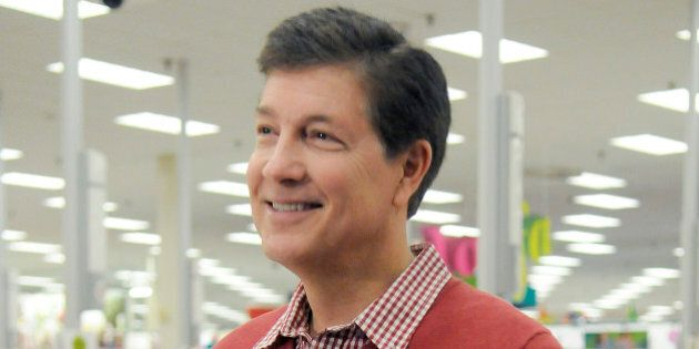 IMAGE DISTRIBUTED FOR TARGET - Gregg Steinhafel, Target CEO, gets ready for the Black Friday store opening...