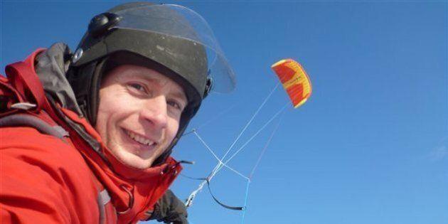 Frédéric Dion en Antarctique: pas une expédition en