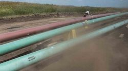 Bris d'oléoduc et déversement au Dakota du