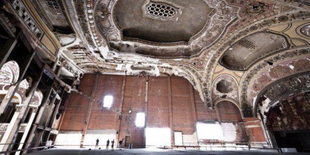 Detroit: comment un cinéma historique est devenu une aire de stationnement
