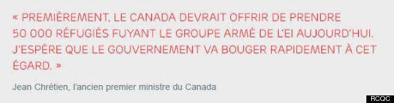Le Canada peut-il accepter 50 000 réfugiés fuyant la violence de l'État