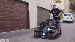 La poussette batmobile que tous les fans de Batman envient