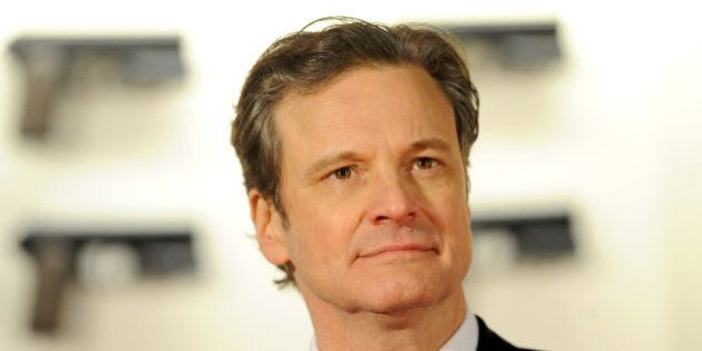 LONDON, ENGLAND - JANUARY 14:  (SUN NEWSPAPER OUT. MANDATORY CREDIT PHOTO BY DAVE J. HOGAN GETTY IMAGES REQUIRED)  Actor Colin Firth attends the World Premiere of 'Kingsman: The Secret Service' at the Odeon Leicester Square on January 14, 2015 in London, England.  (Photo by Dave J Hogan/Getty Images)