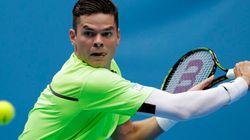 Internationaux de tennis d'Australie: Milos Raonic remporte son premier match