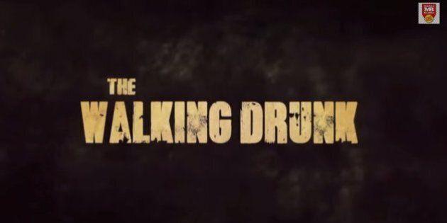 «The Walking Drunk»: une parodie «terrifiante» de «The Walking Dead»