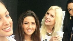 Miss Univers: Miss Israël s'incruste sur un selfie, Miss Liban