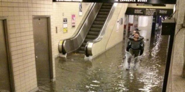 Inondations éclair à