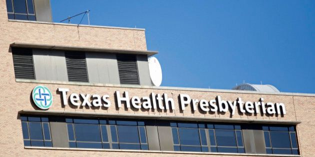 DALLAS, TX - OCTOBER 15: The Texas Health Presbyterian Hospital, where health care workers Amber Vinson...