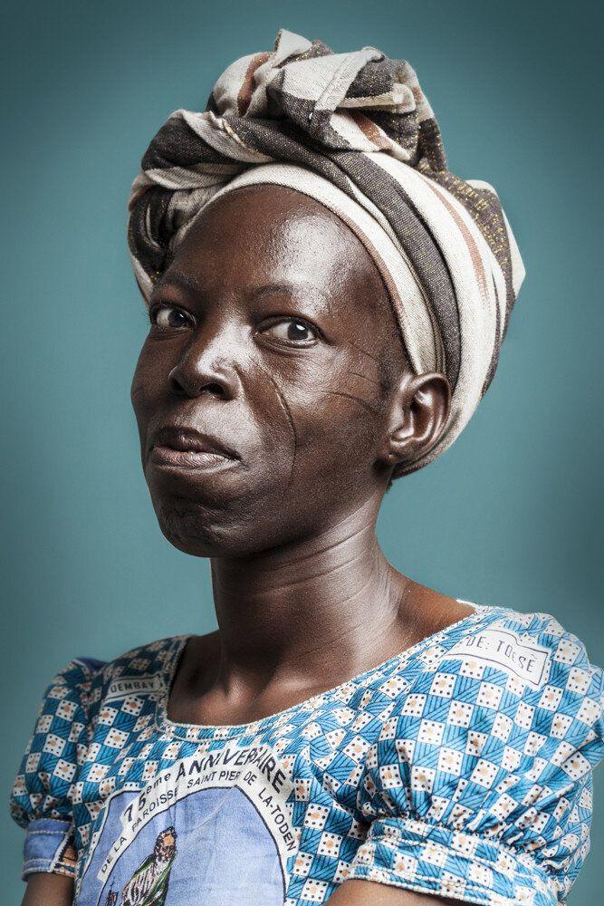 Voici la dernière génération de scarifications en Afrique
