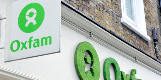Oxfam stock, store in Drury Lane,