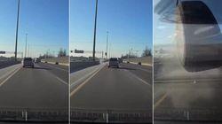 Conduire sur l'autoroute peut être terrifiant, voici