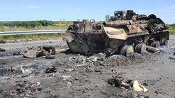 Les forces de Kiev progressent vers Lougansk, mais un avion est