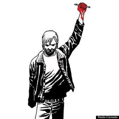 «The Walking Dead» rend à son tour hommage à Charlie