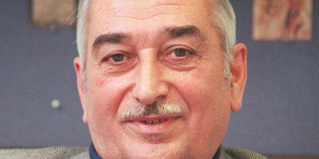 FILE - In this March 3, 1999 file photo, grandson of the late Soviet dictator Josef Stalin, Yevgeny Dzhugashvili,...