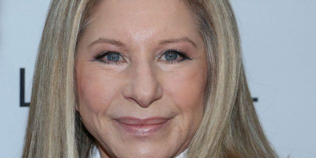 NEW YORK, NY - NOVEMBER 11: Barbra Streisand attends the Glamour Magazine 23rd annual Women Of The Year...