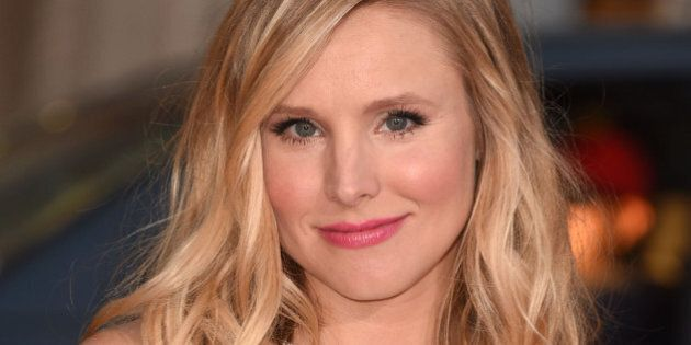 HOLLYWOOD, CA - SEPTEMBER 15: Kristen Bell arrives at the 'This Is Where I Leave You' - Los Angeles Premiere...