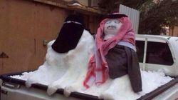 Arabie Saoudite: les bonhommes de neige jugés