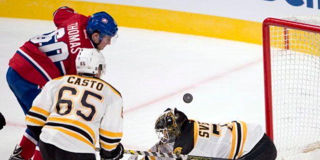 Christian Thomas permet au Canadien de venir à bout des Bruins