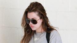 Khloe Kardashian noie sa peine au gym