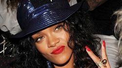 Rihanna en studio