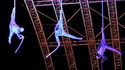 Les drones magiques du Cirque du Soleil