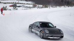 Conduite sur glace : nous avons testé le Porsche Camp4