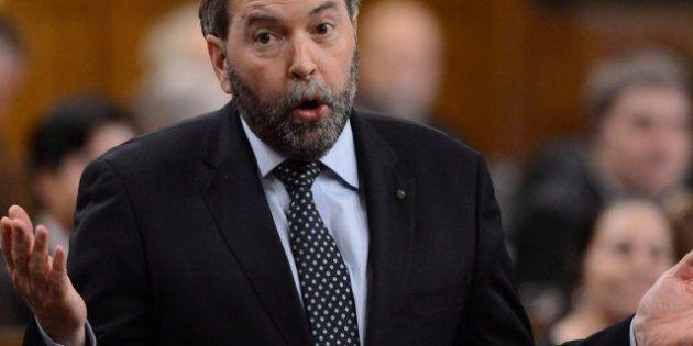 Thomas Mulcair rabroue Ottawa qui propose de sabrer dans le financement en