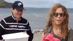 « Ice Bucket Challenge » : Julie Snyder et Pierre Karl Péladeau relèvent le défi