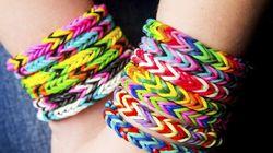 Bracelets Rainbow Loom: des contrefaçons dangereuses pour la