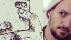 «Cartoonbombing»: les dessins de Troqman prennent vie sur Instagram