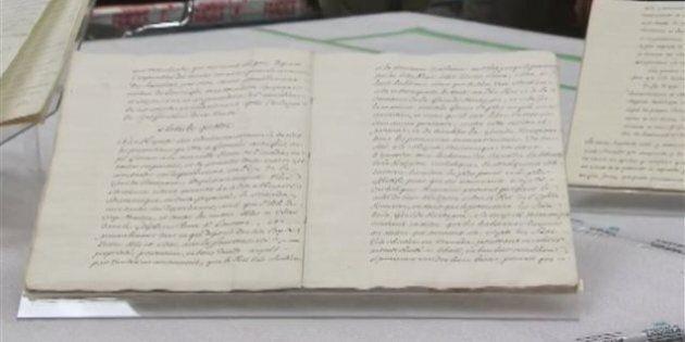 Le traité de Paris présenté aux médias à Québec avant d'être exposé au Musée de la