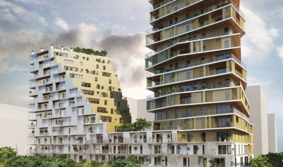 Le plus haut immeuble d'habitation de Paris depuis les années 1970