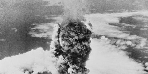 Japan, Chugoku Region, Hiroshima, Atomic explosion on 6th August,
