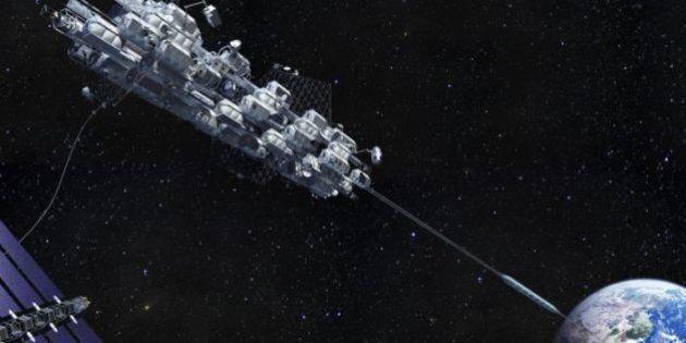 Un ascenseur spatial pour aller en orbite dans moins de 40