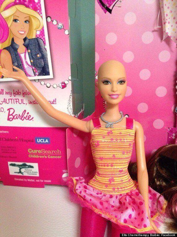 Une Barbie chauve pour les enfants atteints d'un cancer bientôt produite en grande