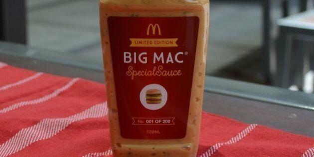 McDonald's vend la sauce du Big Mac en Australie et sur