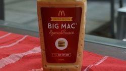 McDonald's commercialise enfin sa fameuse sauce Big