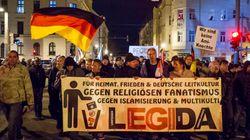 25 000 manifestants anti-islam à Dresde, plus de 100 000 contre-manifestants dans le