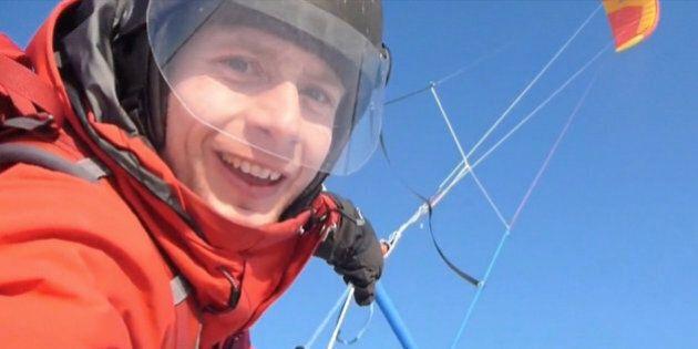 Frédéric Dion rentre au pays après sa traversée de l'Antarctique en