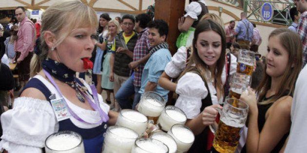 «Le tonneau est percé», la fête de l'Oktoberfest est lancée