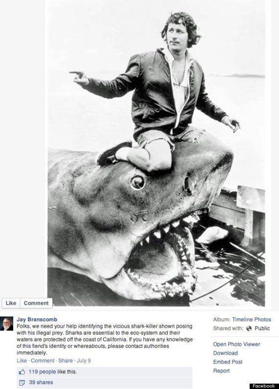 Steven Spielberg pose avec une reproduction de tricératops mort et se fait bombarder de commentaires