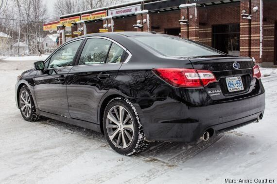 Subaru Legacy 3.6R 2015, l'essai routier