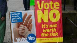 La caravane québécoise en Écosse pour le référendum