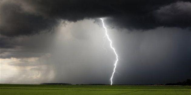 Orages violents: avertissement en vigueur dans le sud du