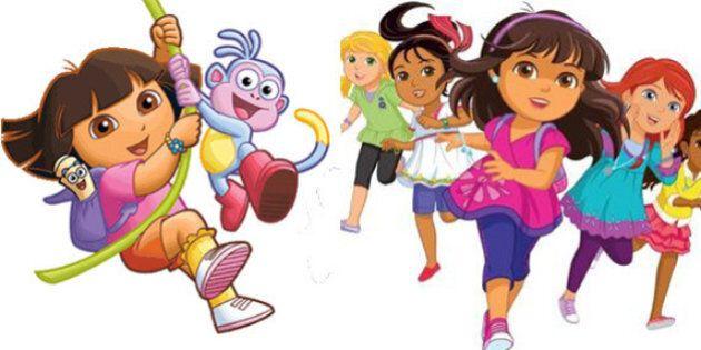 Dora l'exploratrice s'offre un nouveau look et une suite avec «Dora and